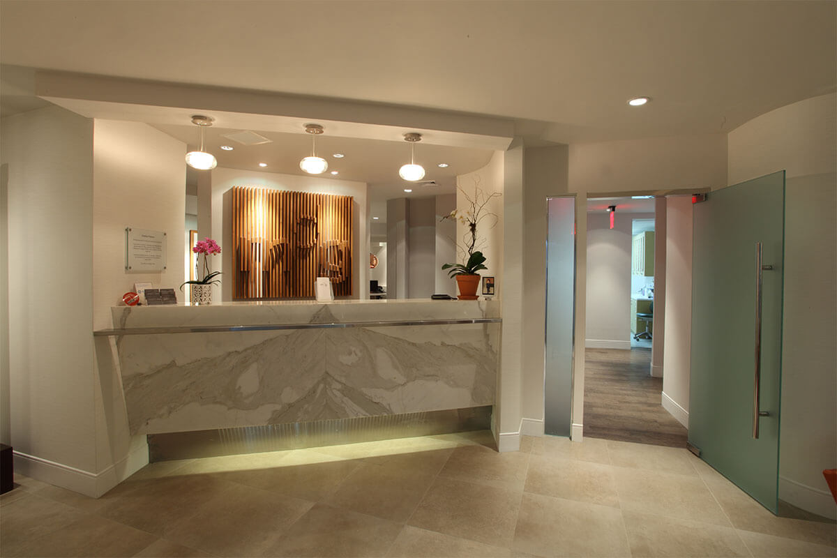 Meridian Dental Group Reception Area