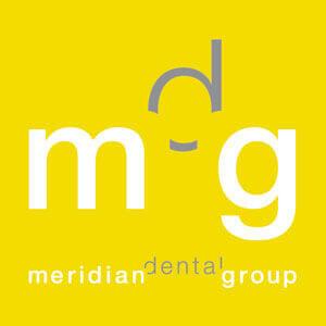 Yellow Background MDG logo