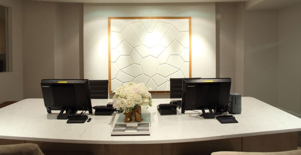 Our Services Image of Reception Desk